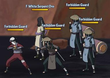Taboo Jutsu Orochimaru's Attack Fight 6 Orochimaru