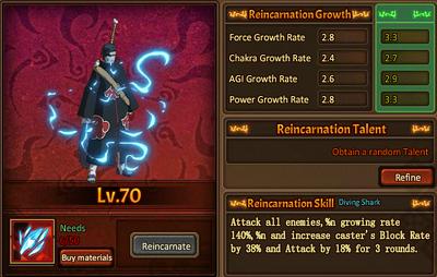 Reincarnation One Kisame