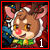 Red Nose Reindeer Icon