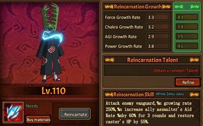 Reincarnation One Zetsu
