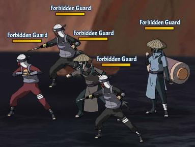 Taboo Jutsu Orochimaru's Attack Fight 1