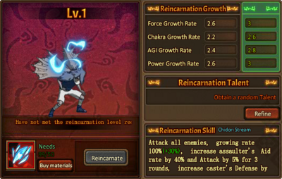 Reincarnation One Cursed Sasuke