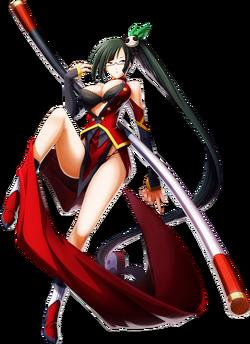 Litchi Faye-Ling (Chronophantasma, Character Select Artwork)