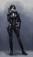 Deadpool Game Domino Concept Art Hero Shot