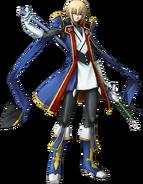 Jin Kisaragi (Calamity Trigger, Character Select Artwork)