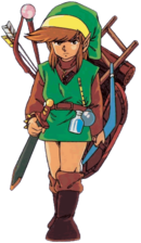 Link LOZ with items