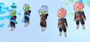 Fusion Zamasu and his clones