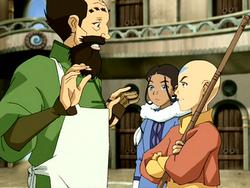 Aang furious
