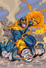 Thanos vs darkseid ron lim by namorsubmariner-d4yltk2