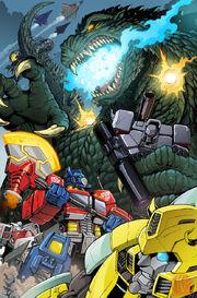 Godzilla vs the transformers by kaijusamurai-d3129o4
