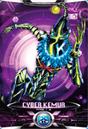 Ultraman X Cyber Kemur Card
