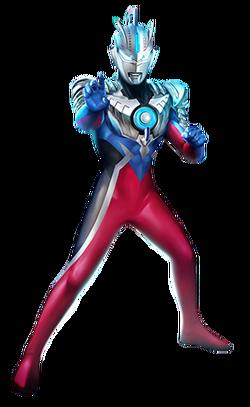 Ultraman Orb Emerium Slugger render