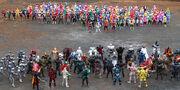 All Kamen Rider & Super Sentai in Super Hero Taisen