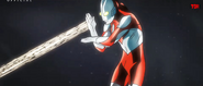 Ultraman fires Specium Ray