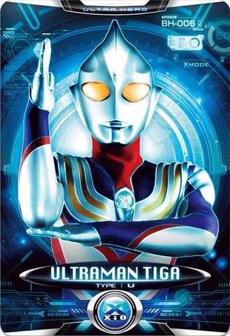File:Ultraman X Ultraman Tiga Card.PNG