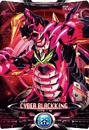 Ultraman X Cyber Black King Card