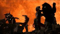 Ancient Dyna vs. Golzas