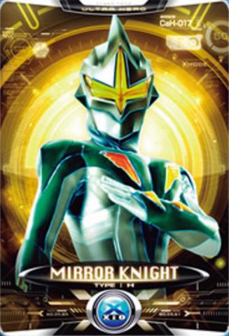 File:Ultraman X Mirror Knight Card.PNG