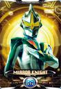 Ultraman X Mirror Knight Card