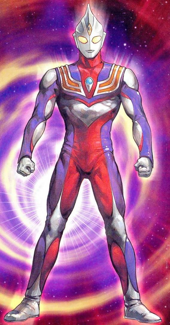 Ultraman Zero New Form Ultraman Tiga (Uchūse...