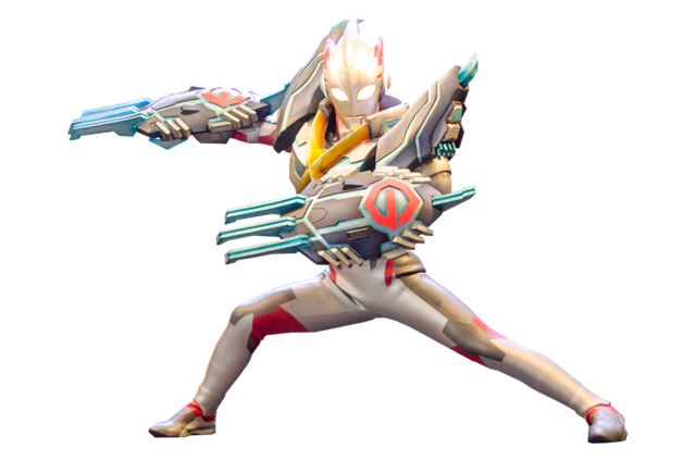 File:Ultraman X Gomora Armor Render 2.png