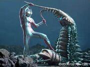 Twin Tail vs Ultraman Mebius