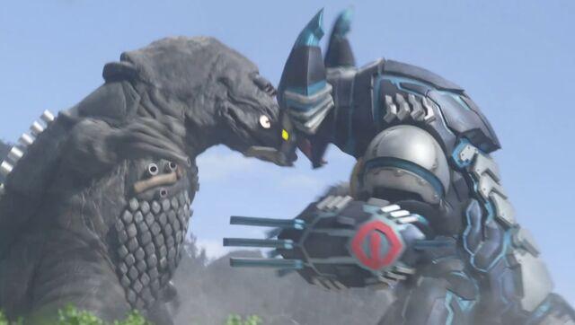 File:Ultraman X-Cyber Gomora and Zaragas Screenshot 001.jpg