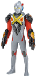 File:Ultraman X figure with Zetton Armor.png