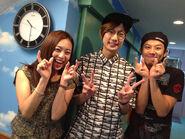 Takuya, Yukari and Takahiro