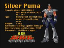 Silver Puma
