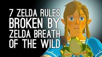 Zelda Breath of the Wild Gameplay 7 Zelda Rules Breath of the Wild Is Happy to Break