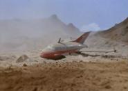 Jet VTOL crash