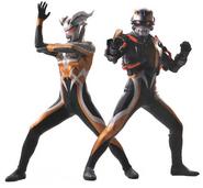 Darklops pose