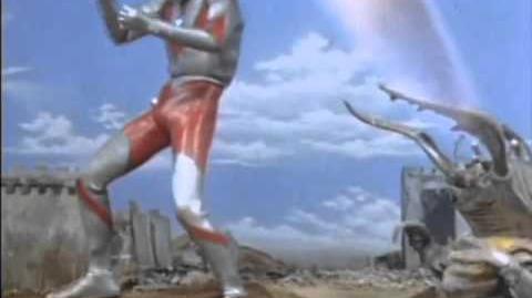 Ultraman vs Antlar