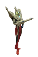 Ultraman Zero Ultimate Zero Render 1