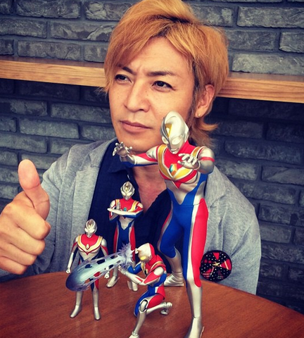 File:Takeshi & his Ultraman Dyna's collection.png