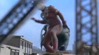 Ultraman Leo vs Alien Vermin