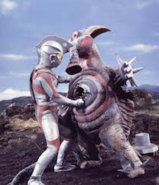 Bad Baalon v Ultraman Ace