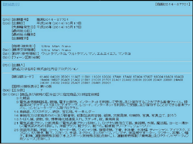 File:Ultraman Neko trademark.png