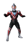 Ultraman Orb Thunder Breastar render
