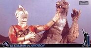 Ultraman Jack vs Astron