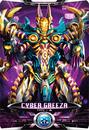 Ultraman X Cyber Greeza Card