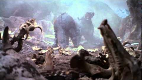 Giant Tyrannosaurus vs