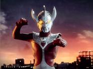 Ultraman Taro sun set