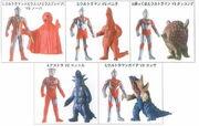 プレイヒーロー VS ウルトラマン対決セット 激闘の覇者編