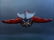 Leo flying close