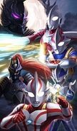 Ultraman Mebius and Zoffy