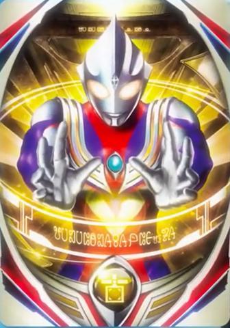 File:Ultraman Orb Ultraman Tiga (Multi Type) Card TV ver.png