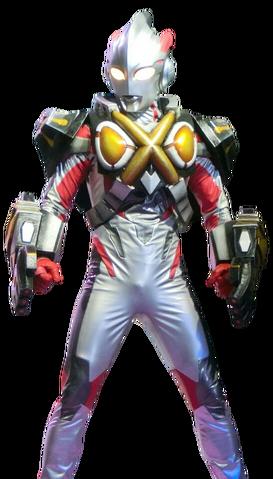 File:Ultraman X Zetton Armor Render.png
