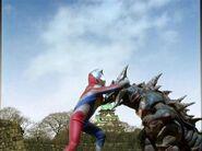 Neo Geomos vs. Ultraman Dyna